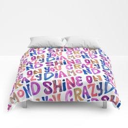 Shine On Your Crazy Diamond – Vintage Palette Comforters