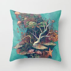 Coral Communities Throw Pillow