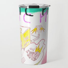 """I Met Rebecca"" / Frontier Ruckus Song Illustrations, Series 1 (5/15) Travel Mug"