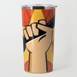 Art Gratia Artis - W Travel Mug
