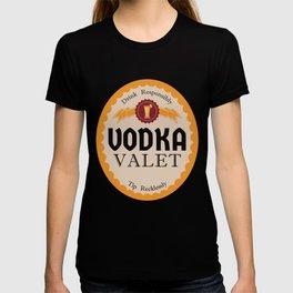 Vodka Valet Funny Bartender Alcohol Drinking product T-shirt