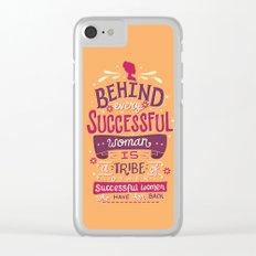 Successful women Clear iPhone Case