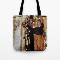 Rust and Rubble Tote Bag