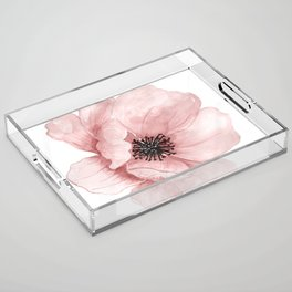 Flower 21 Art Acrylic Tray