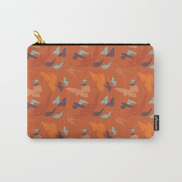 Bird Camouflage at Sunset Carry-All Pouch