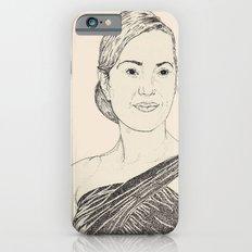 Kate Winslet Portrait Slim Case iPhone 6s