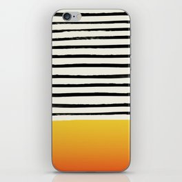 Sunset x Stripes iPhone Skin