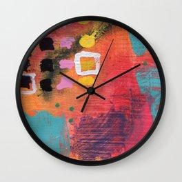 Vivid Expression 01 Wall Clock