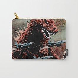 Godzilla Cover Art G-Fan Magazine Carry-All Pouch