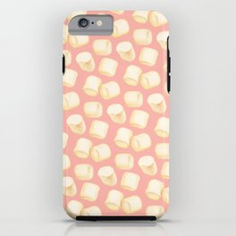 Marshmallow Pattern - Pink iPhone Case