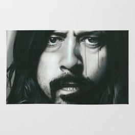 'Grohl In Black' Rug
