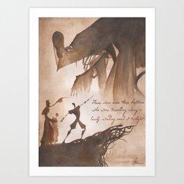 The Tale of Three Brothers Art Print