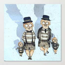 The Tweedledaddys Canvas Print