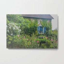 Monet's Gardens Giverny France Metal Print