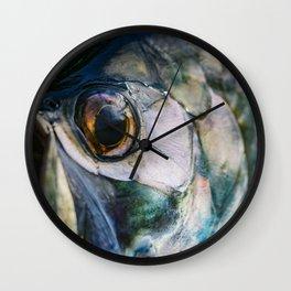 Tarpon Eye Wall Clock