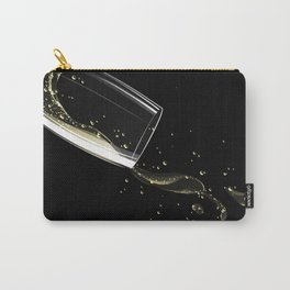 Glass of sparkling wine Carry-All Pouch