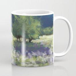 Fields of White and Purple Coffee Mug