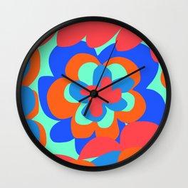 Paradise Flower Wall Clock