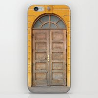 real madrid iPhone & iPod Skins featuring Madrid Door by Diego Tirigall