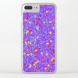 effervescence 2 Clear iPhone Case