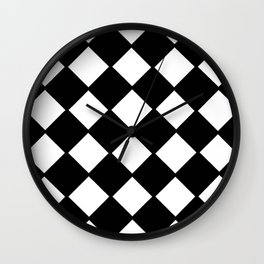 optical pattern 72 domino Wall Clock