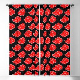 Akatsuki Clouds - Red Blackout Curtain