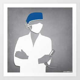 Anesthesiology Art Print