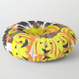 Halloween Festival Floor Pillow