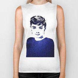 Audrey Hepburn (10) Biker Tank