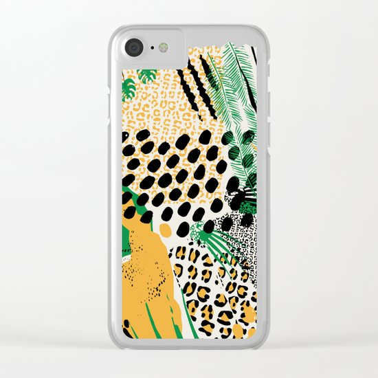 wild cats Clear iPhone Case