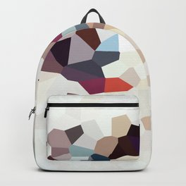 Africa Geometric Abstract Backpack