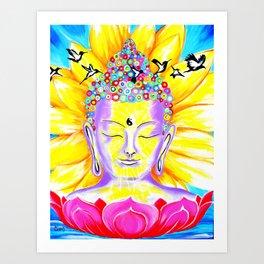 Wings to Awakening Art Print