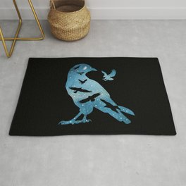 The Night Of The Crows Rug