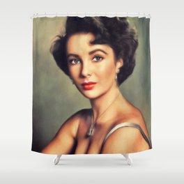 Eizabeth Taylor, Hollywood Legend Shower Curtain