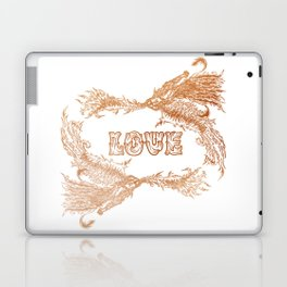 Love Rising in Copper Laptop & iPad Skin
