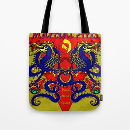 Martial Arts Dragons, Body Mind Spirit  Tote Bag