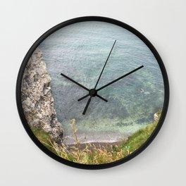 Etretat, France - Beach Wall Clock