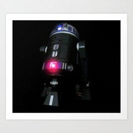 Dark Droid Art Print
