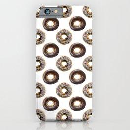 Donut Polka Dot Pattern iPhone Case