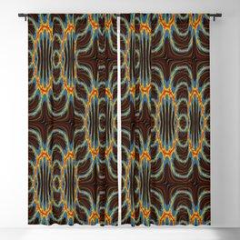 Organic links Blackout Curtain