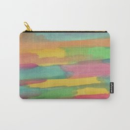 Rainbow Sorbet Abstract Art Carry-All Pouch