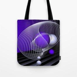 go violet -16- Tote Bag