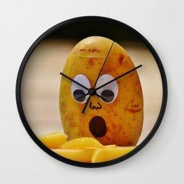 funny potatoe Wall Clock