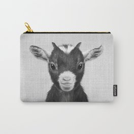 Baby Goat - Black & White Carry-All Pouch