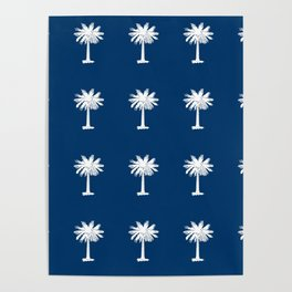 Palmetto 2-palms,drupe,sabal,swamp,cabbage,abanico,drupa,palmera Poster