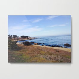 17 mile drive - California Countryside Metal Print