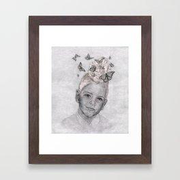 Keepers of the Swarm : Butterflies - Katrina Niswander Framed Art Print