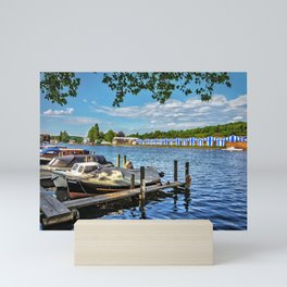 Preparing For Henley Royal Regatta Mini Art Print