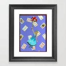 Alice Escape Framed Art Print