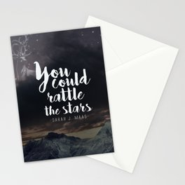 You could rattle the stars (stag included) Stationery Cards
